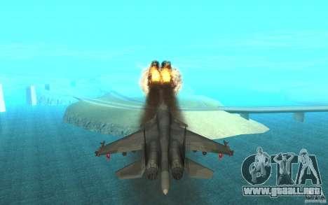 El Su-34 para visión interna GTA San Andreas
