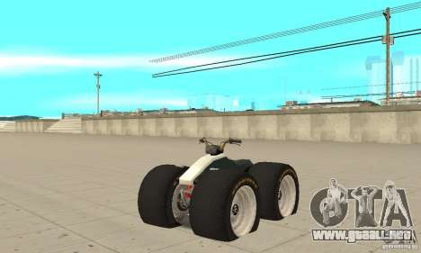 QUAD BIKE Custom Version 1 para GTA San Andreas