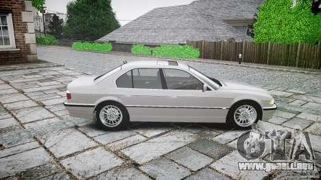 BMW 740i (E38) style 32 para GTA 4 left