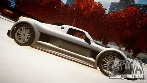 Gumpert Apollo Sport KCS Special Edition v1.1 para GTA 4 vista interior