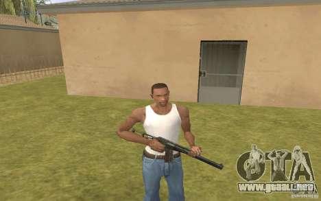 Máquina especial del eje para GTA San Andreas segunda pantalla