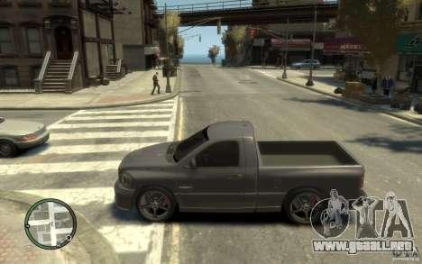 Dodge Ram SRT10 para GTA 4 left