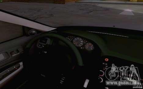 Honda Civic 1999 para vista lateral GTA San Andreas