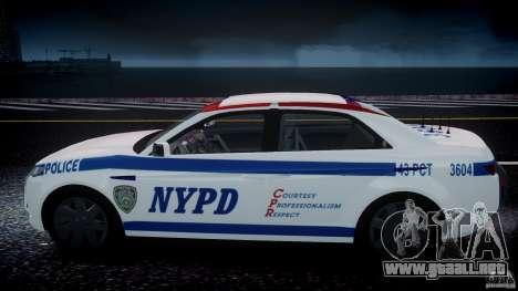Carbon Motors E7 Concept Interceptor NYPD [ELS] para GTA 4 ruedas