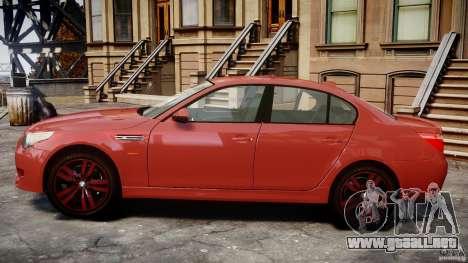 BMW M5 E60 2009 para GTA 4 left