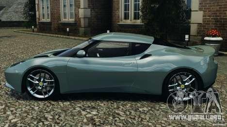 Lotus Evora 2009 v1.0 para GTA 4 left
