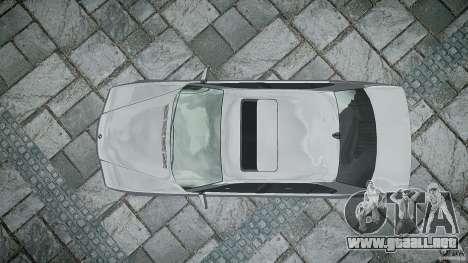 BMW 740i (E38) style 32 para GTA 4 vista desde abajo