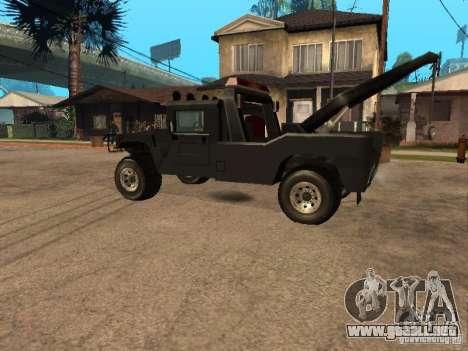 Camioneta HUMMER H1 para GTA San Andreas left