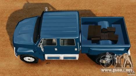 Ford F-650 XLT Superduty para GTA 4 visión correcta
