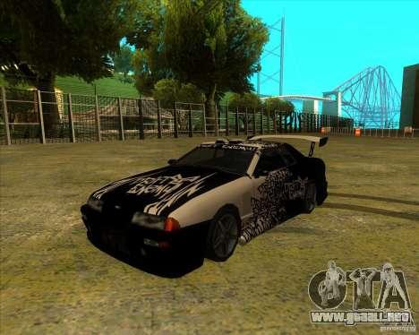 Elegía con nuevos spoilers para GTA San Andreas left