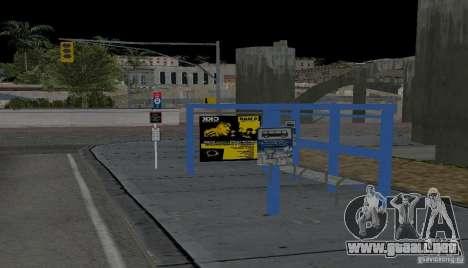 Nueva parada de autobús para GTA San Andreas