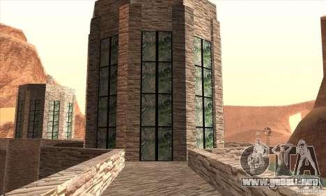 La nueva presa para GTA San Andreas sexta pantalla