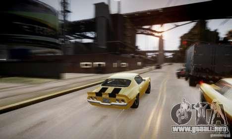 Chevrolet Camaro Z28 para GTA motor 4