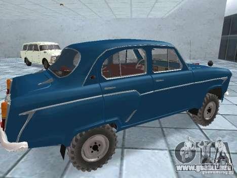 Moskvitch 410 4 x 4 para la visión correcta GTA San Andreas