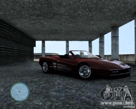 Ferrari Testarossa para GTA 4 left