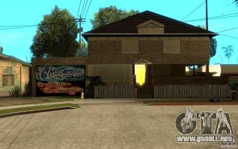 New great cjs house para GTA San Andreas