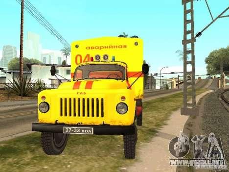 GAZ 53 para la visión correcta GTA San Andreas