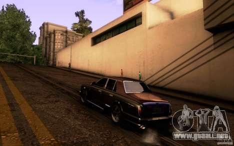 Bentley Arnage R 2005 para la visión correcta GTA San Andreas