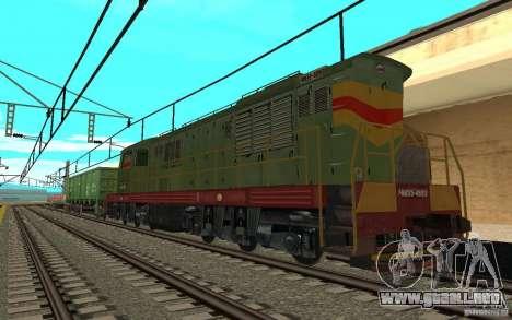 FERROCARRIL mod II para GTA San Andreas sucesivamente de pantalla