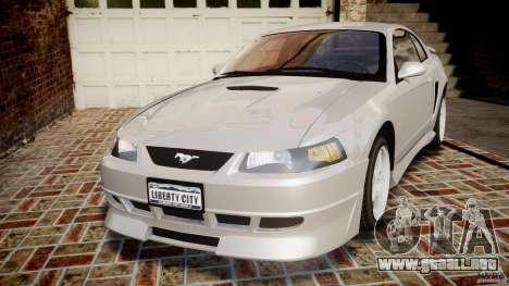 Ford Mustang SVT Cobra v1.0 para GTA 4
