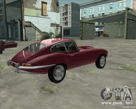 Jaguar E-Type Coupe para GTA San Andreas left