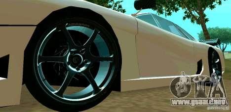 New Turismo para visión interna GTA San Andreas