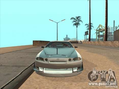 Toyota Soarer (JZZ30) para GTA San Andreas vista hacia atrás