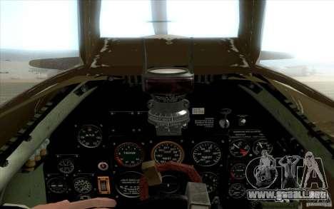 Spitfire para la visión correcta GTA San Andreas