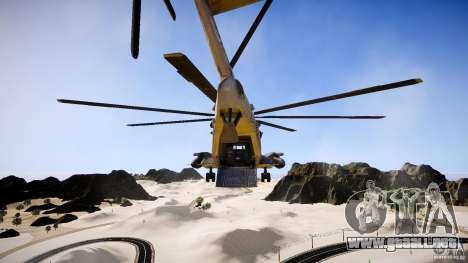 MH-53 Pavelow v1.1 para GTA 4 vista interior