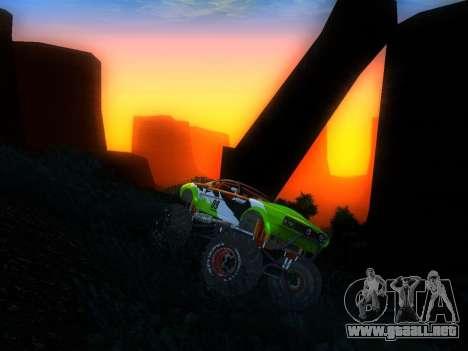Fire Ball para la visión correcta GTA San Andreas