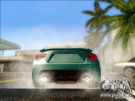 Subaru BRZ S 2012 para la visión correcta GTA San Andreas