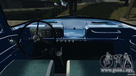 ZIL-431410 1986 v1.0 para GTA 4 vista hacia atrás