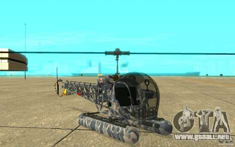 Sea Bell H13 para GTA San Andreas left
