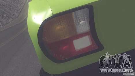 Peugeot 504 para GTA San Andreas vista hacia atrás