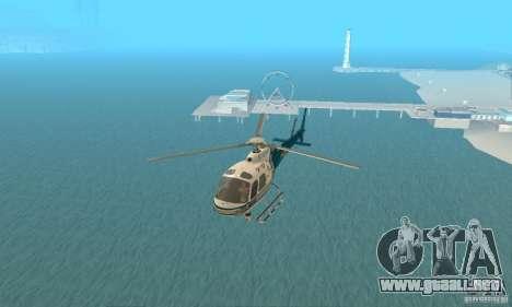 AS350 Ecureuil para GTA San Andreas