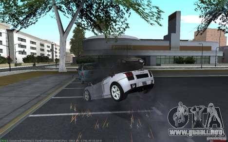 Accidente realista para GTA San Andreas tercera pantalla