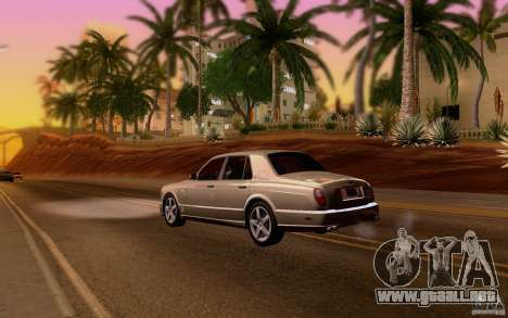 Bentley Arnage para la visión correcta GTA San Andreas
