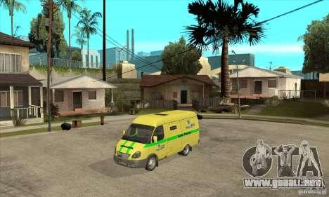 Gacela coleccionista para GTA San Andreas