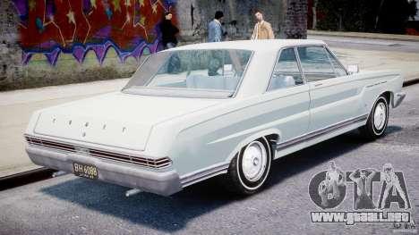 Ford Mercury Comet 1965 [Final] para GTA 4 visión correcta