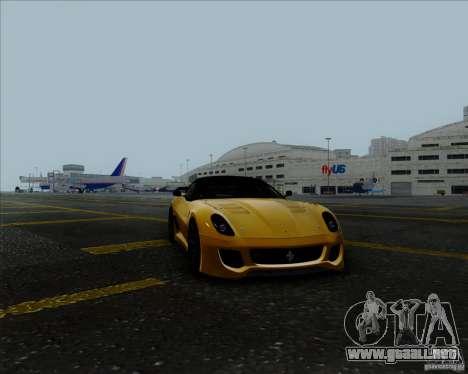 Ferrari Challenge-2009 599XX para la visión correcta GTA San Andreas
