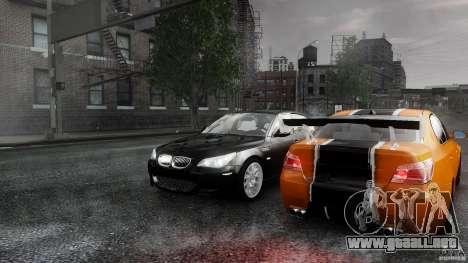 BMW M5 e60 Emre AKIN Edition para GTA 4 vista interior