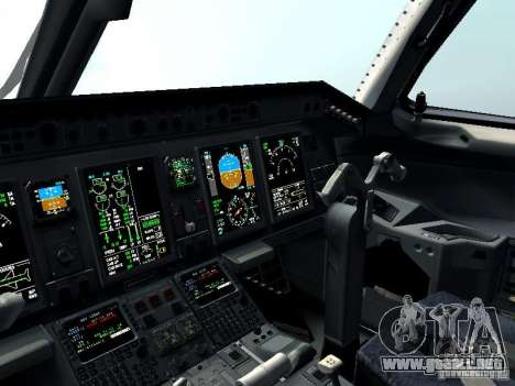 Embraer E-190 para la vista superior GTA San Andreas