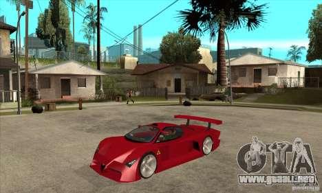 Alfa Romeo Tipo 33 GTI para GTA San Andreas