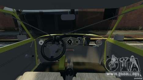 Mini Cooper para GTA 4 vista hacia atrás