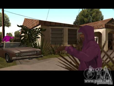 Campana para GTA San Andreas octavo de pantalla