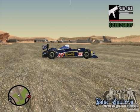 Acura ARX LMP1 para visión interna GTA San Andreas