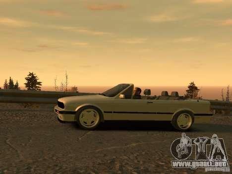 BMW 3-er E30 para GTA 4 Vista posterior izquierda