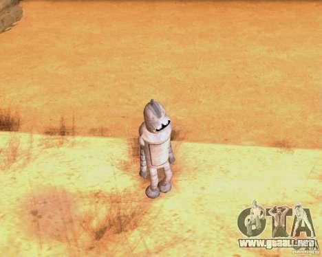 Futurama para GTA San Andreas