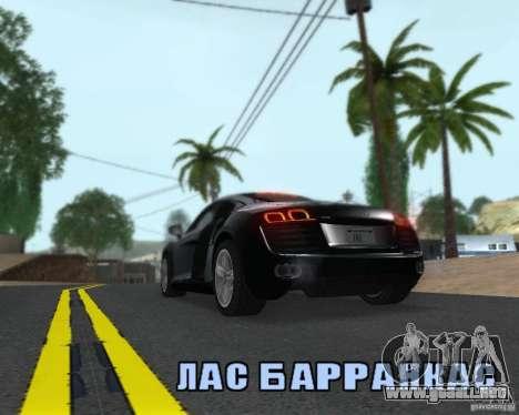 Enb series by LeRxaR para GTA San Andreas quinta pantalla