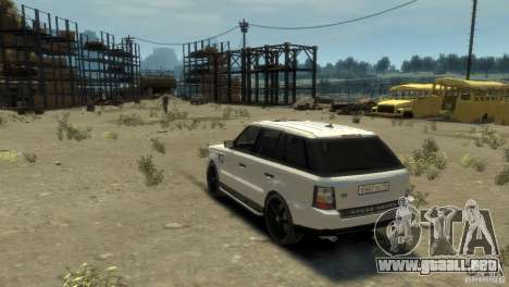 Land Rover Range Rover Sport para GTA 4 left